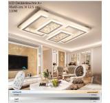 LED Deckenleuchte XW805-95x65cm 110W. Mit Fernbedienung ist die Lichtfarbe/Helligkeit einstellbar A+