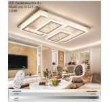 LED ceiling light XW805-95x65cm 110W cm. Incl. LEDs and remote control light and color adjustable 65 W