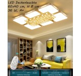 B-Ware LED ceiling light 8232 with remote control light color / brightness adjustable A +