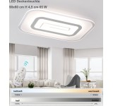 B-Ware LED ceiling light 1614-90x60 cm. Incl. LEDs and remote control light and color adjustable 65 W