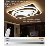 LED Deckenleuchte XW093 Flaches-Design  mit Fernbedienung Lichtfarbe und helligkeit einstellbar