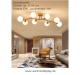 Ceiling light XW817 E14 illuminant included. Light color warm white cool white with switch controllable