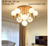 Ceiling light XW818 E14 illuminant included. Light color warm white cool white with switch controllable