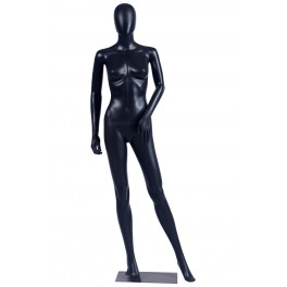 FC-4Black schwarz weibliche abstrakte Schaufensterpuppe mit Metallplatte