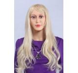 Perücke C2 lang gelockt Blond