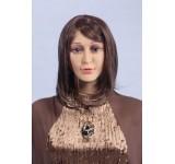 Wig C6 short straight brown