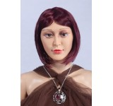 Wig D2 short straight red