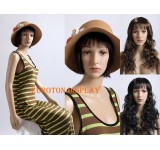 SF-6 two wigs free sitting mannequin