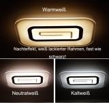 B-Ware B74 LED Deckenleuchte  XW801 1614-900x600. Mit Fernbedienung die Lichtfarbe/Helligkeit einstellbar A+