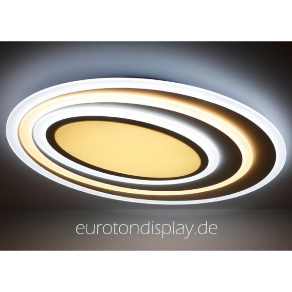 LED-XW092 LED Deckenleuchte Fernbedienung Lichtfarbe//Helligkeit einstellbar A+