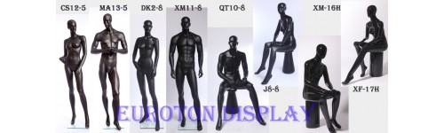 abstract male shinning or matt skin color